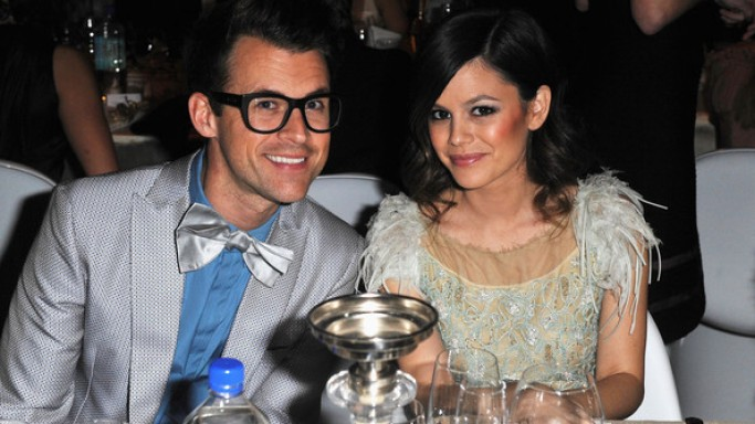 Brad Goreski Rachel Bilson attend the 2012 Art of Elysium Heaven Gala