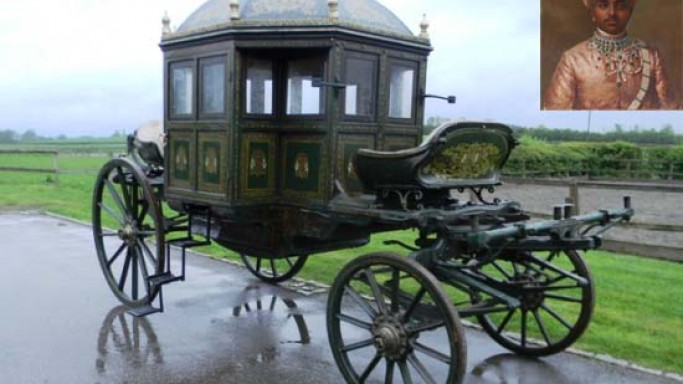 Rare Indian artifact: Maharaja of Mysore's 1825 State Carriage up for auction