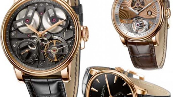 Arnold & Son Royal Collection comprises of classical timepieces in the great English tradition