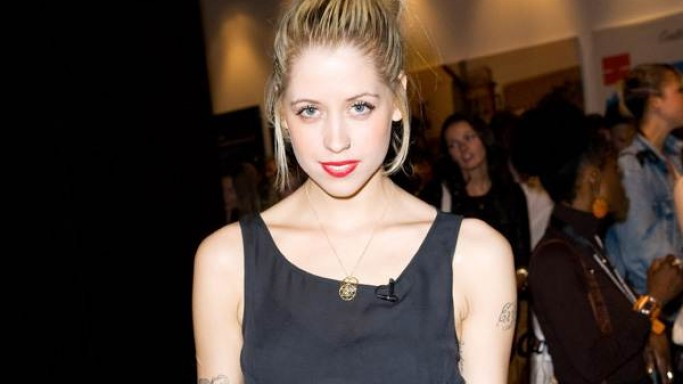 Peaches GeldOf supports Bottletop