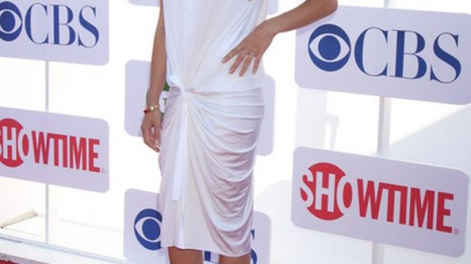 Kristin Kruek wears ALDO Hayth peep toe pumps