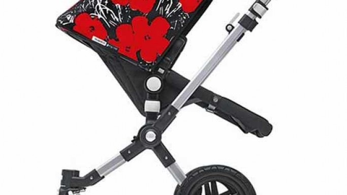 Bugaboo's Andy Warhol inspired baby strollers – Developing a fine taste for the high life