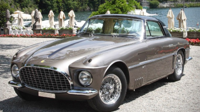 One-off 1953 Ferrari 250 Europa Coupé Vignale to auction at Bonhams Quail Lodge auction 2013