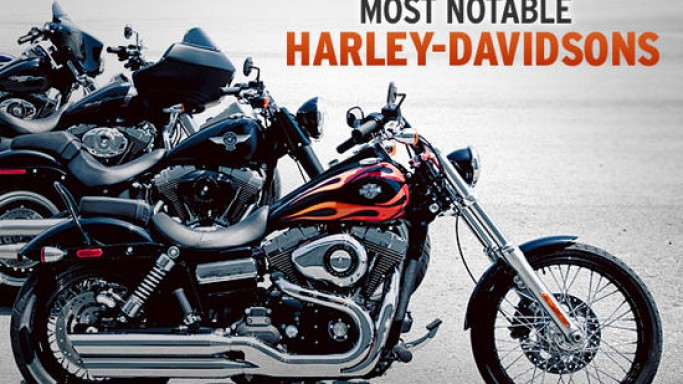 The 13 most desirable Harley-Davidsons