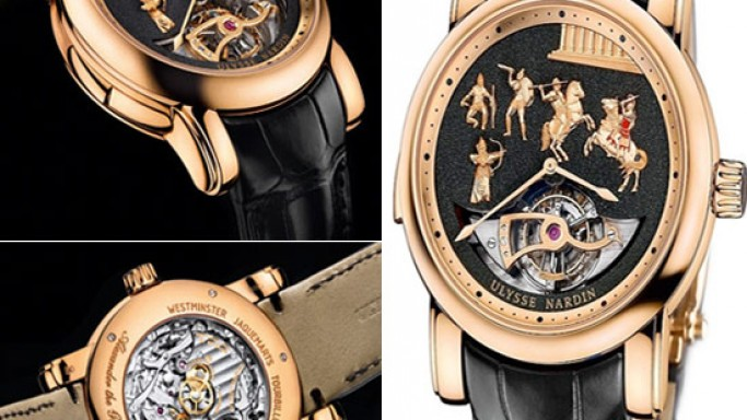Ulysse Nardin's Alexander the Great Minute Repeater is for those who have a winning streak