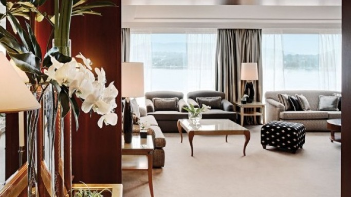 The Royal Penthouse Suite at Hotel President Wilson Geneva: The Most Expensive Hotel Suite in the World