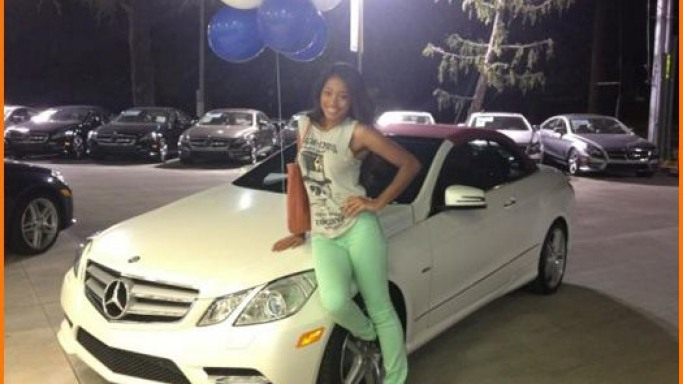 photo of Keke Palmer Mercedes - car