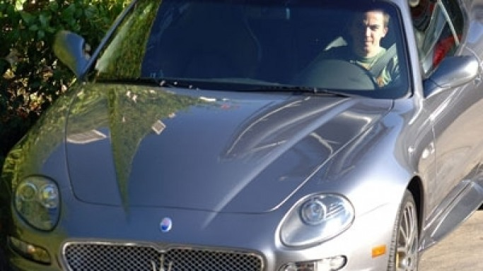 photo of Frankie Muniz Maserati Coupe - car