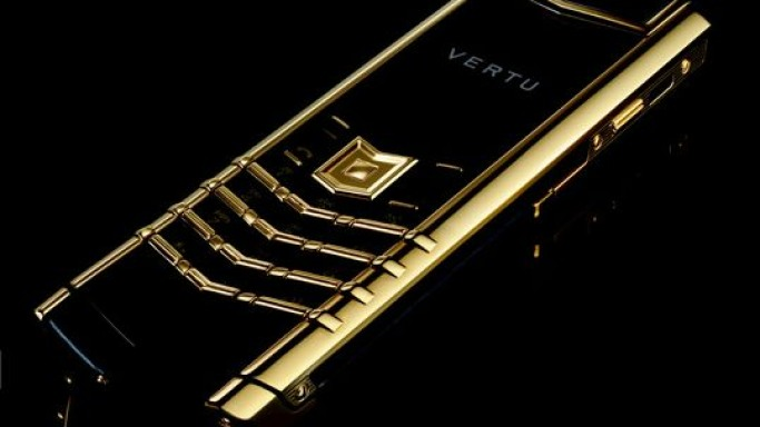 Vertu unveils its Signature Precious Luxe Phone Series studded with gemstones