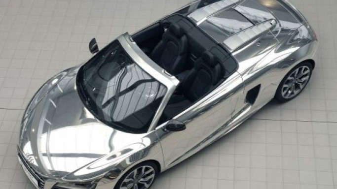 Limited edition Chromed Audi R8 to go under the hammer for Elton John charity