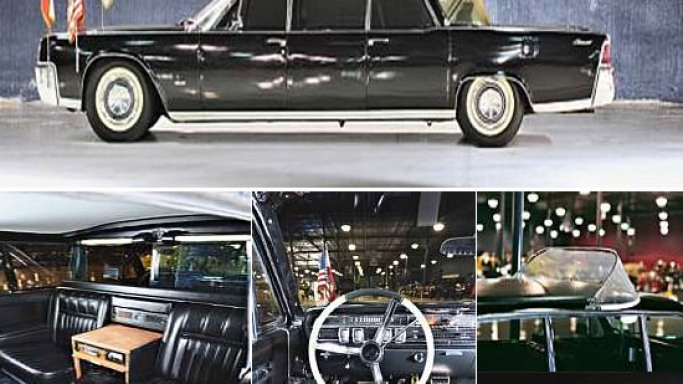 1964 Lincoln Continental Popemobile limousine goes on auction