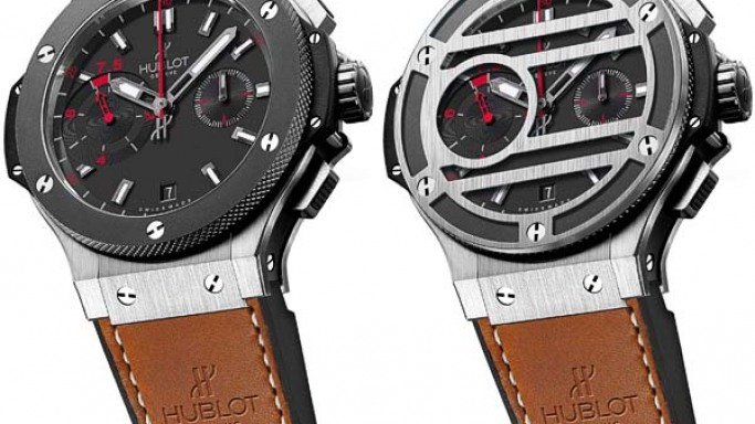 Hublot's Chukker Bang watch for the Polo Gold Cup Gstaad