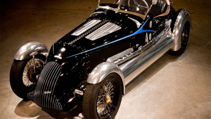 The Magnolia Special: Nesbitt transforms vintage convertible into eco-friendly masterpiece