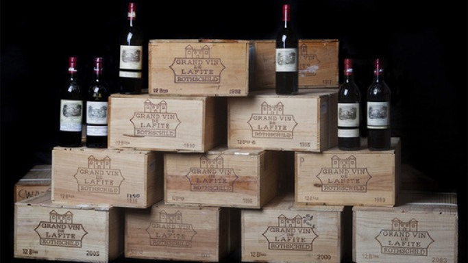 Chateau Lafite Rothschild is the most expensive single wine lot auctioned this year