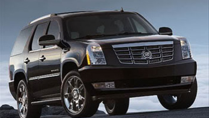 Cadillac Escalade car - Color: Black  // Description: versatile