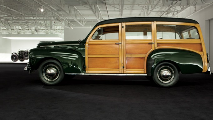 "1948 Ford ""Woody"" Station Wagon."