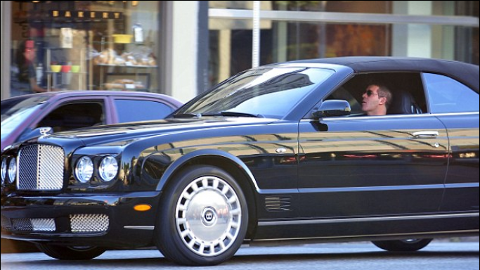 Simon Cowell's Bentley