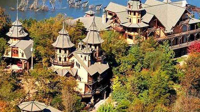 The Castle Rogues Manor, Eureka Springs, Arkansas listed for $1.8 Million