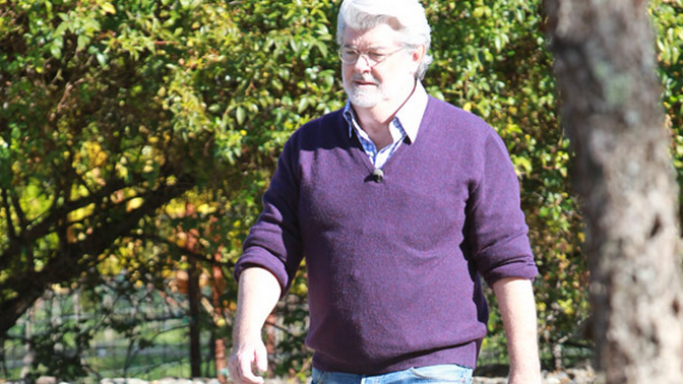 George Lucas at ranch