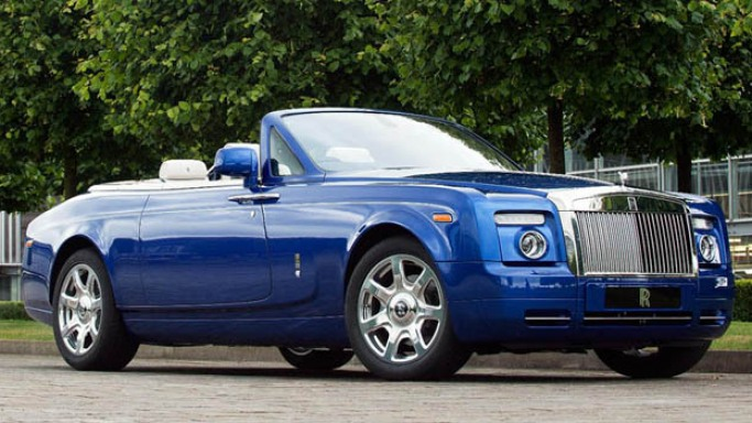 Rolls Royce Phantom Drophead Coupe car