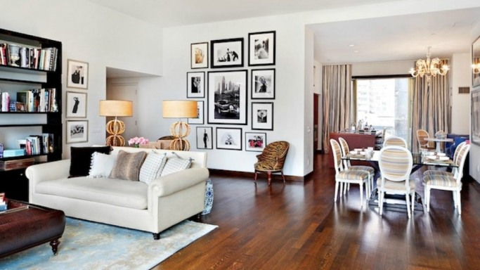 Jennifer Aniston apartment in New York City