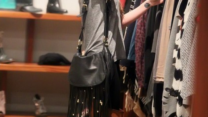 CC Skye Leight Fringe Bag