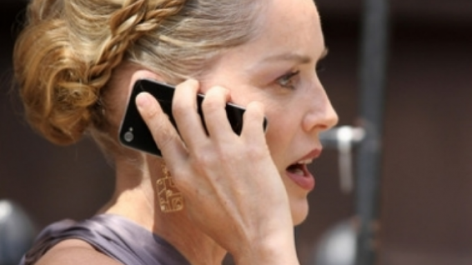 Sharon Stone was seen using one of these models during a film shoot
