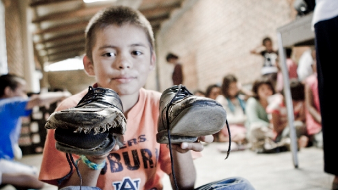 Moby has been providing constant support to propagate the objective of Soles4souls and make it gather more support from people, all over the globe.
