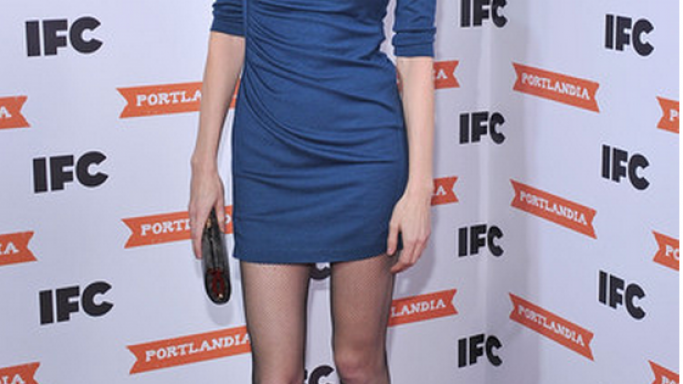 Heather Graham has been spotted wearing Catherine Malandrino Asymmetric Ruched Silk-jersey Dress number of times