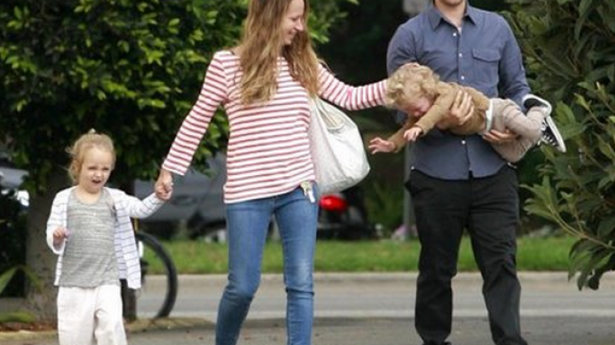 Tobey was spotted wearing black colored Nike sports shoes while enjoying a walk with his loving family.