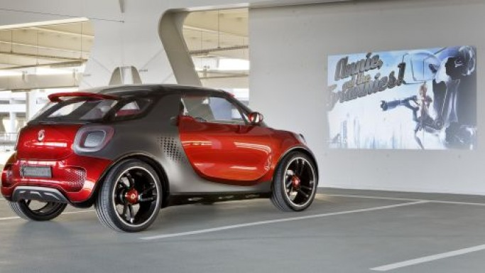 Daimler's Smart Electric Car Comes With It's Own Drive-In Theater