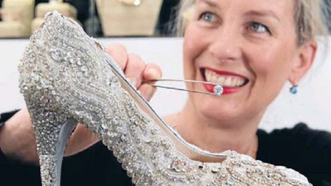 A $500,000 diamond heel is the world's most expensive shoe