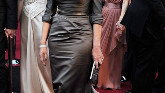 When Helen Mirren was spotted at the 83rd Academy awards, she was sporting a satin clutch from the world-famous Salvatore Ferragamo.