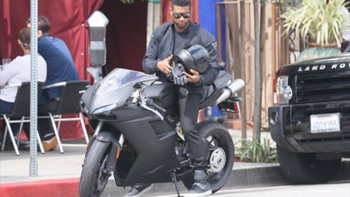 Usher with Ducati 848 Evo Superbike