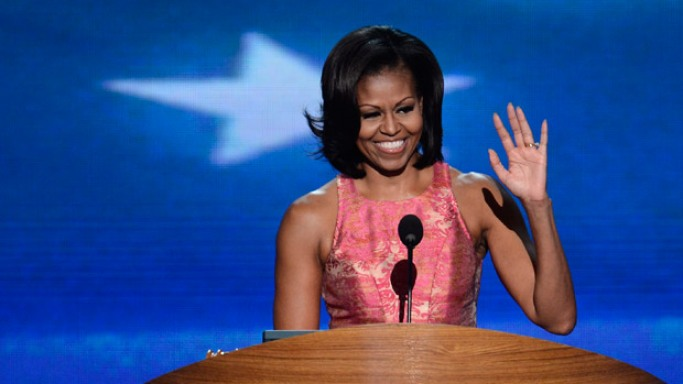 Mrs. Obama has raised a lot of money for Entertainment Industry Foundation