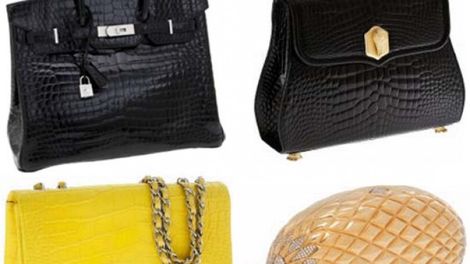 Hermes handbags rules at auction with a black crocodile Birkin selling for $122,500