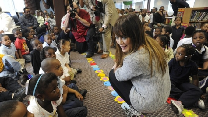 Hilary Duff supports Kids Wish Network