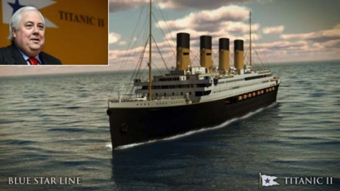 Titanic II: Australian Billionaire Clive Palmer releases plans for Titanic replica set to sail in 2016