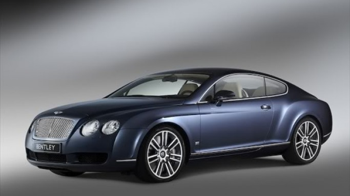 Shannen drives Bentley Continental GT