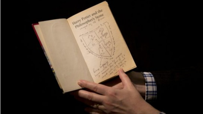 Harry Potter manuscript with original notes up for auction