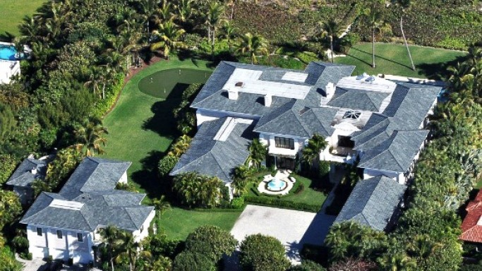 photo: house/residence of friendly 400 million earning Palm Beach, FL, USA-resident