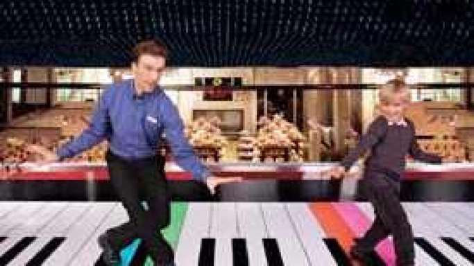 $250,000 Dance-On Piano Available For Sale