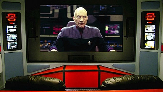 $15,000 Homemade Star Trek Theater