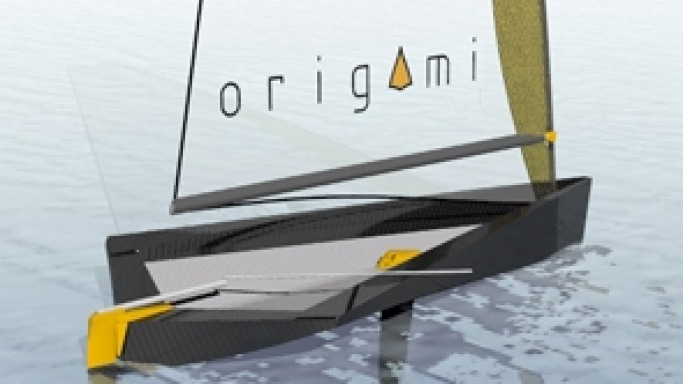 Set To Sail In Origami Boat Which Folds After Use!