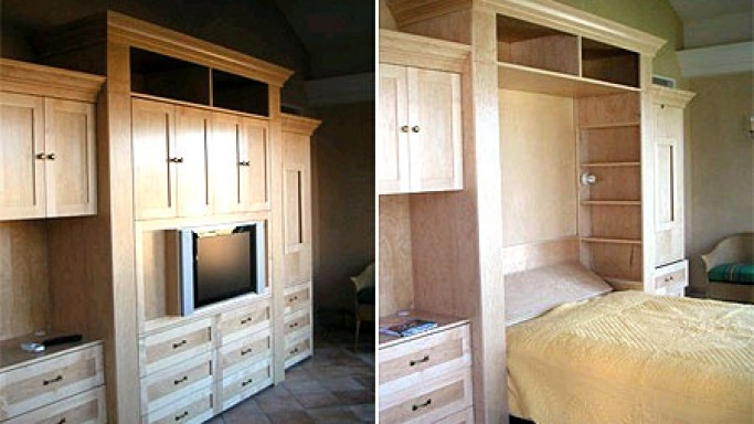 LCD TV Bed