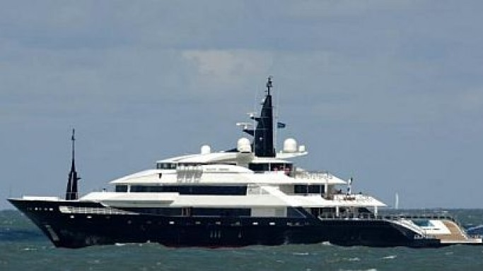 Oceanco's latest launch – The 82m Alfa Nero luxury yacht
