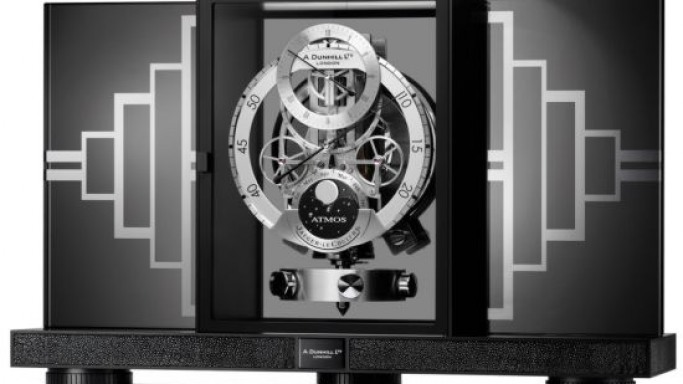 Jaeger-LeCoultre's Atmos Regulator clock for Dunhill