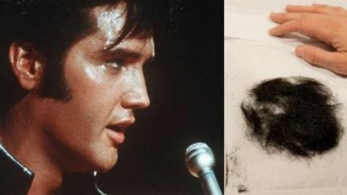 A clump of Elvis Presley's hair goes up for auction