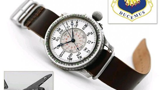 WWII warrior's watch to go on auction