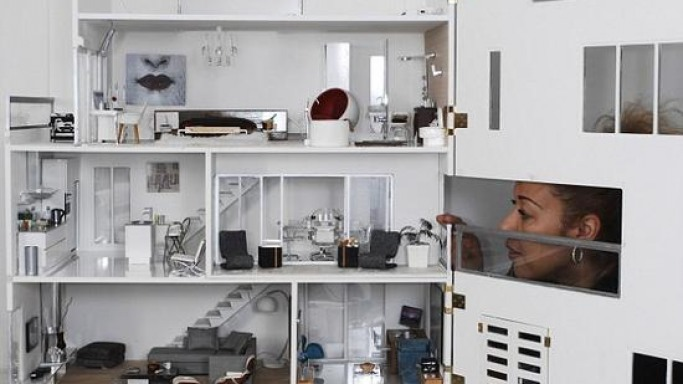 Doll house equipped with working accessories brings your doll to life
